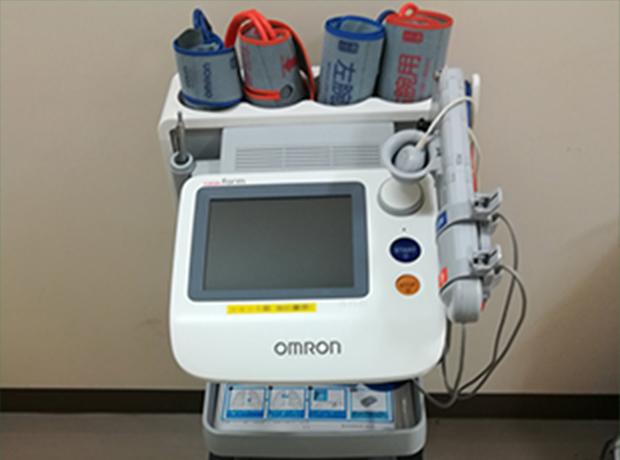 血圧脈波検査1